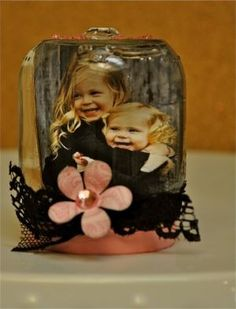 Baby food jar ideas.. Im sure there are lots lots more. this would make a cute thing to do for a Christmas gift Idea for kids to make for there parents