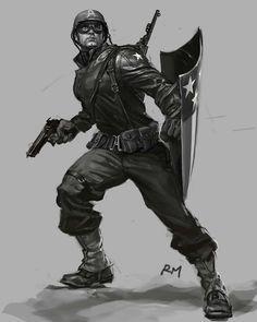 Revelados los 'concept art' iniciales de Iron Man, Máquina de Guerra, Capitán América y El Mandarín - Noticias de cine - SensaCine.com
