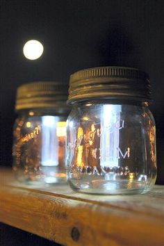 Mason Jar Solar Lights - Garden Therapy