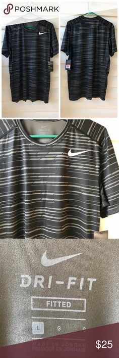 ✔️MEN's DRI-FIT NIKE SHIRT Men's Dri-Fit shirt. Size large. Nike Shirts Tees - Short Sleeve