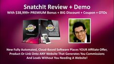 SnatchIt Reviews | SnatchIt Software | SnatchIt Bonuses Cloud Based, Other People, Work On Yourself, Coupons, Software, Product Launch, Politics, Top, Spinning Top