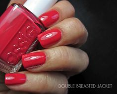 Essie Double Breasted Jacket (Holiday 2014)