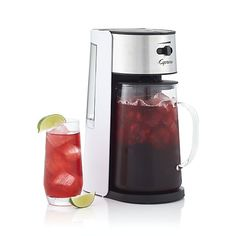Capresso® Electric Iced Tea Maker in New Kitchen & Food | Crate and Barrel