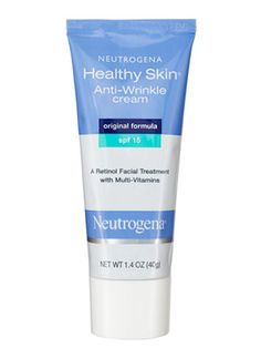 Neutrogena Healthy Skin Anti-Wrinkle Cream SPF 15 ($13.99): For a great price, this anti-aging cream helps reduce the appearance of fine lines and protects from sun damage.