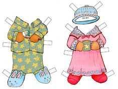 Paper toys - this website has all sorts of free downloads: paper dolls, fairy furniture, kites.
