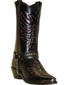 dd23fd84a5e Sage by Abilene Boots Men's Scorpion Harness Boots, Black Cowboystövlar,  Västernkläder, Salvia,