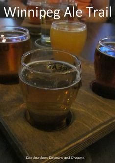 Winnipeg Ale Trail: touring microbreweries in Manitoba Belgian Pale Ale, Popular Beers, Wheat Beer, Original Travel, Beer Coasters, Beer Tasting, Liquor Store, Brewing Co, New Things To Learn