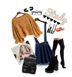 """""""Outfit for School"""" by oladda on Polyvore featuring moda, Commando, Sole Society, New Look, Bobbi Brown Cosmetics, NARS Cosmetics e Miss Selfridge"""