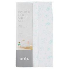 Our 3 piece printed cot sheet set has been crafted in 250 thread count cotton and features a gorgeous print throughout.3 piece set.250 thread...