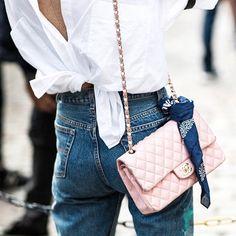 Fashion   Pink   Chanel crossbody   Classics