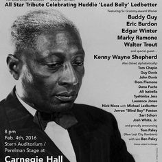 A great honor to perform with Blues royalty to pay tribute to a blues legend who changed the course of music history. #blues #leadbelly