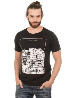 Camiseta Masculina Made in Favela