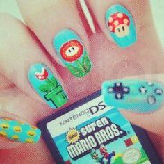 Mario Nails!:D