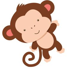 Clipart can be used for many decorations. Safari Party, Jungle Party, Safari Theme, Baby Party, Monkey Crafts, Monkey Art, Jungle Theme Birthday, Baby Birthday, Baby Shower Themes