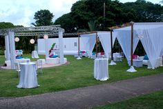 Event planning and set up