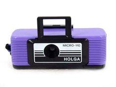 Plastic-camera: Holga Micro 110
