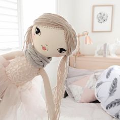 """182 Likes, 4 Comments - These Little Treasures Dolls (@these.little.treasures) on Instagram: """"Sugar & Spice and all things nice... #Lola #smalldoll #interior #girlsroom #girlsroominspo #doll…"""""""