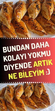 Pastry Art, Baking And Pastry, Turkish Recipes, Starters, Food And Drink, Appetizers, Bread, Bulgur, Bakken