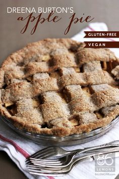 Gluten-Free Pie Crust and Apple-Of-My-Eye Pie: Photo Tutorial