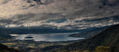 El Encano, allá vamos Areas Protegidas, Especie Animal, Paraiso Natural, Mountains, Nature, Travel, Wooden Pillars, Pedestrian Bridge, Cloudy Day