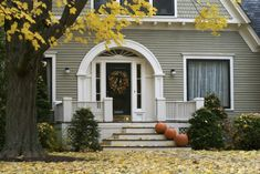 5 Fall Home Maintenance Jobs to Tackle Early Five fall maintenance tips Maintenance Jobs, Home Maintenance Checklist, Exterior Paint Colors, Exterior House Colors, Gray Exterior, Home Protection, Bob Vila, Autumn Home, Fall Winter