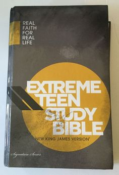 Perfect way to help your #teen grow in faith #studybible #thomasnelson #faith  #forsale #ebay