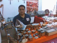 Artesanías de concha abulón, hueso y madera, orgullo de #SanAndrésOrizabita, Tixb'ada y #ElNith #Ixmiquilpan #Hidalgo