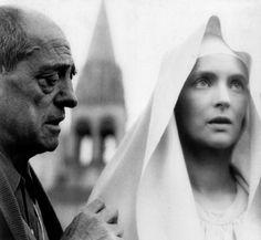 Luis Buñuelon the set of The Milky Way