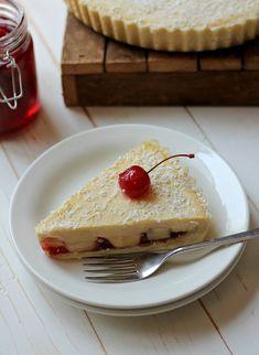The Brunette Baker: Manchester Tart British Bake Off Recipes, British Desserts, Great British Bake Off, British Sweets, Sweet Pie, Sweet Tarts, Manchester Tart Recipes, Cake Recipes, Dessert Recipes