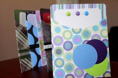 Handcrafted Blank Uniquely Assorted Notecards via Etsy