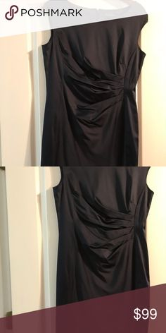 Shop Women's Lauren Ralph Lauren size 12 Dresses at a discounted price at Poshmark. Evening Dresses, Size 12, Ralph Lauren, Satin, Womens Fashion, Closet, Things To Sell, Black, Style