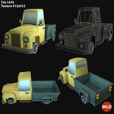 Low Poly Cartoon Cars on Behance