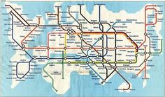 Tube map of the World | AnOther Loves