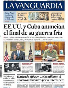 La Vanguardia 18/12/2014
