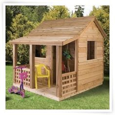 Wooden Playhouse : Shop Outdoor Wood Playhouses for Kids at PlayHouses.com