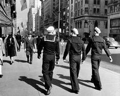 New York City...Fleet Week..men in uniform...*insert whistle*..gotta go asap