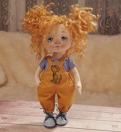 Текстильные куклы. Елена Петрова