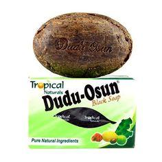 Dudu-Osun to wytwarzane według tradycyjnych metod afrykańskie czarne mydło. Zawiera m.in. olej z ziaren palmowych (pozyskiwany tradycyjnymi metodami), a także popiół ze spalonych strąków kakaowca oraz kawałków palm.