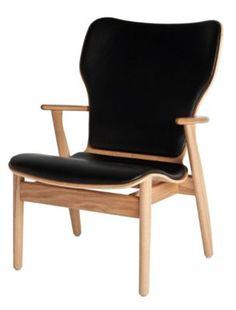 Domus Lounge Chair, Upholstered - Artek