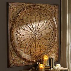 Spice Rosette Wall Plaque at Kirkland's $ 119.99