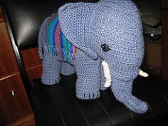 Ravelry: Toy Elephant No. 606 pattern by Cecilia Vanek