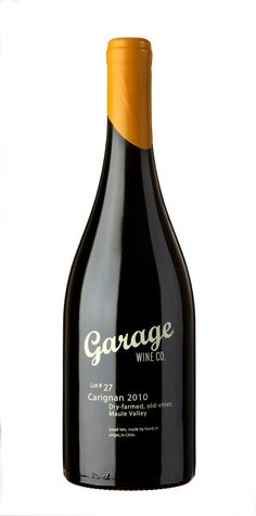 garage  #taninotanino #vinosinteligentes