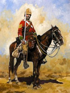 British Mounted Infantry,