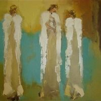 Original Oil Painting from Angel Series — Anne H. Neilson