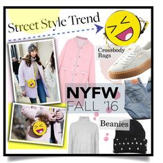 Trendy by trakster on Polyvore featuring polyvore, fashion, style, Topshop, WithChic, Puma, Levi's, clothing, StreetStyle and NYFW