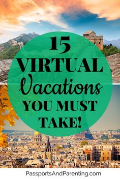 15 free virtual vacations to go on so you can travel around the world now! Take a virtual trip of a national park, of museums, Disney World and more. These trips are perfect for kids, teens and adults too! #travel #traveltips Virtual Museum Tours, Virtual Tour, Adventure Activities, Kid Activities, Travel Guides, Travel Tips, Hawaii Volcanoes National Park, Vacations To Go, Monterey Bay Aquarium