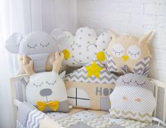 Baby Boy Room Decor, Baby Bedroom, Baby Boy Rooms, Baby Cribs, Kids Bedroom, Baby Sofa, Baby Pillows, Crib Bumper Set, Baby Halloween Outfits