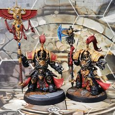 Not-So-Golden Boys Legio Custodes, Grey Knights, Far Future, The Grim, Warhammer 40k, Best Funny Pictures, Crossover, Minis, Darkness