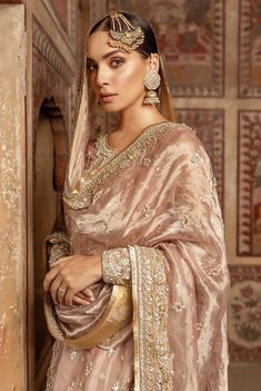 Traditional and beautiful bridal dresses for this wedding season – The Odd Onee Beautiful Bridal Dresses, Pakistani Wedding Outfits, Indian Bridal Outfits, Pakistani Bridal Dresses, Pakistani Wedding Dresses, Pakistani Dress Design, Pakistani Clothing, Wedding Hijab, Indian Dresses