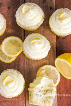 These delicious Lemon Zucchini Cupcakes are so moist and fluffy! Paired with an incredible lemon buttercream. these are the best zucchini recipe yet!